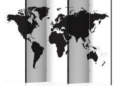 Paraván - Black & White World II [Room Dividers]